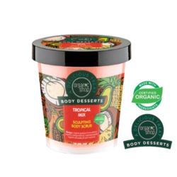 ORGANIC SHOP- Body Desserts –  TROPICAL MIX- modelujący scrub do ciała
