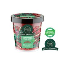 ORGANIC SHOP- Body Desserts – POMEGRANATE SUGAR SORBET – cukrowy scrub do ciała