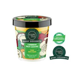 ORGANIC SHOP- Body Desserts – CARIBBEAN FRUIT COCKTAIL – tonizująca piana do kąpieli