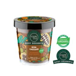 ORGANIC SHOP- Body Desserts – ROYAL CHOCOLATE – odżywczy suflet do ciała